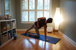 Sequence to Stretch the Side Body and Prepare for Twisting Poses
