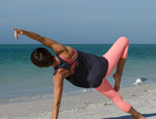 STRETCH THE SIDE BODY AND PREPARE FOR TWISTING POSES