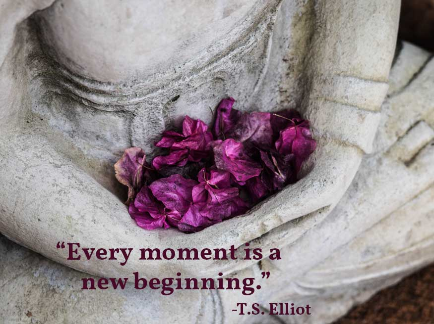 This blog post explores the importance of new beginnings as well as five powerful ways to start a yoga class. When you fine tune your timing as a yoga teacher, you help students connect to their best selves, achieve their goals, make better decisions, and decipher meaning in their life experiences.