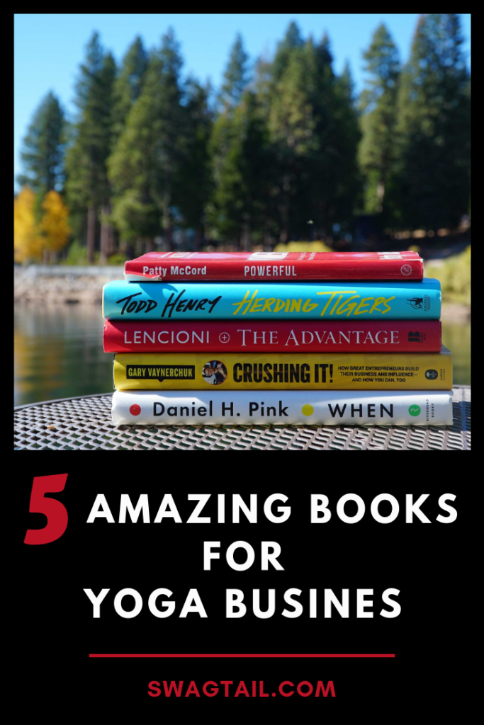 5 Amazing Books For Yoga Business Swagtail