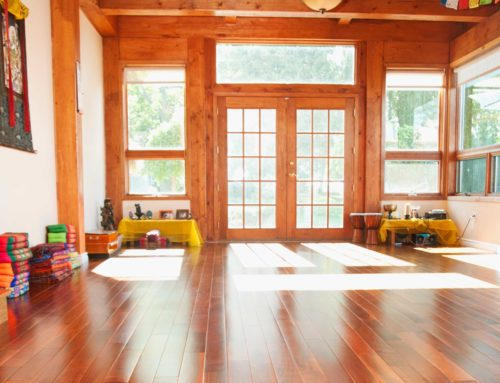 5 IDEAS TO ELEVATE YOUR YOGA STUDIO SPACE