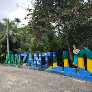 One of the best ways to end your day on a yoga retreat is with restorative yoga. In this post, you'll find my favorite class from my trip to Costa Rica.