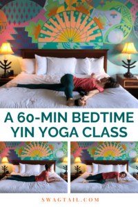 For a restful night's sleep and to wake up refreshed each day, use this bedtime yin yoga sequence. Or, use it to stretch the body on lazy days, too!