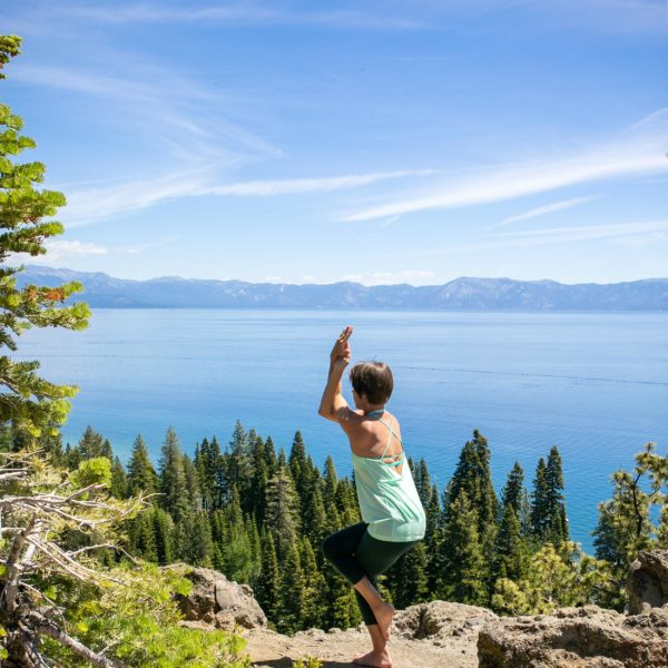 Lake Tahoe is a popular vacation destination for nature lovers. This summer guide will help you enjoy the scenery--and awesome yoga--like a local!