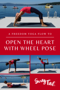 Wheel pose requires length in the front of the body and strength in the back. Use this flow to create the freedom necessary to open the heart in this asana.