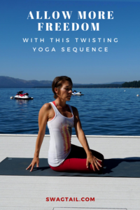A twisting yoga sequence can cleanse the body and mind, and create amazing space for more freedom in all aspects of your life.